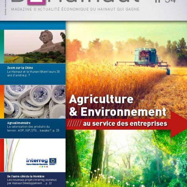 Agriculture & Environnement ////// au service des entreprises- B2Hainaut 34