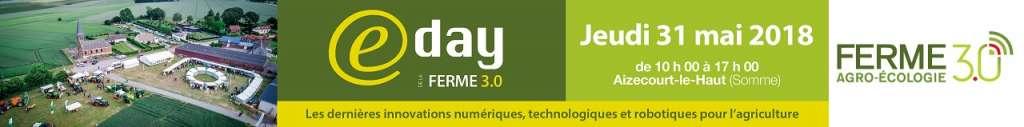 """Voyage d'étude """"E-day Ferme 3.0"""" le 31 mai 2018"""