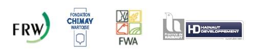 La Fédération Wallonne de l'Agriculture, la Fondation Rurale de Wallonie; la Fondation Chimay Wartoise et Hainaut Développement