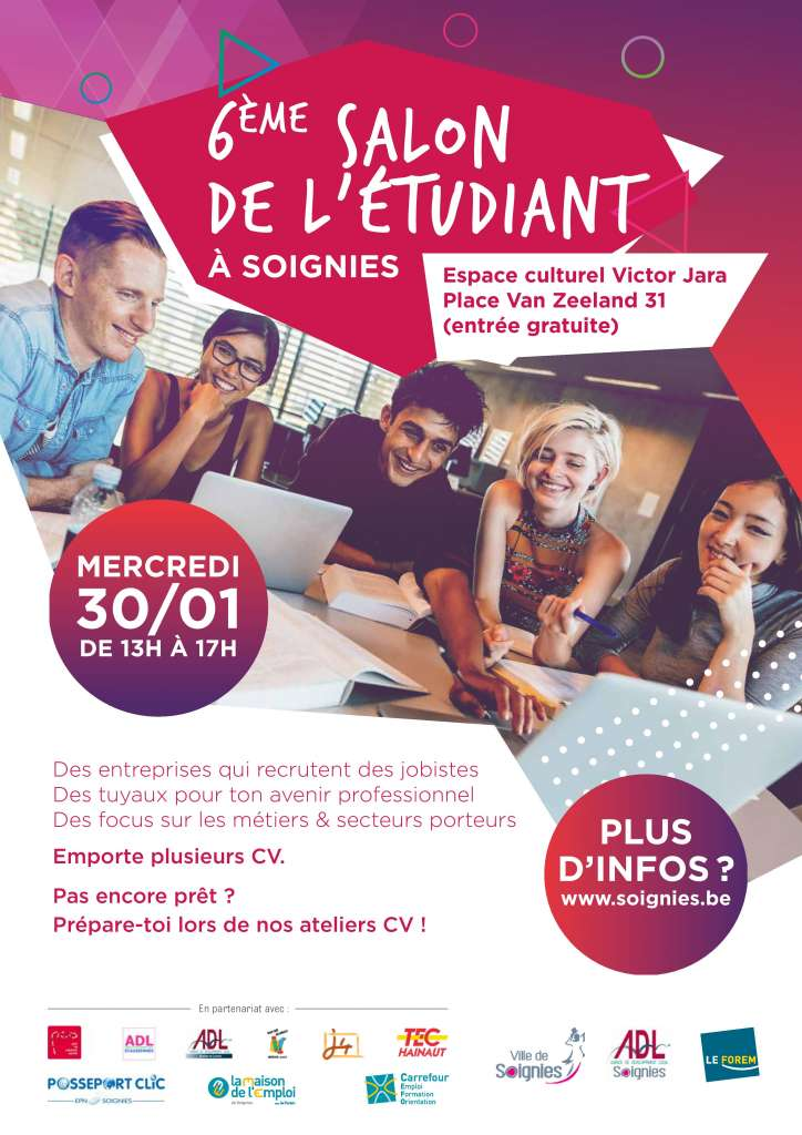 Salon de l'étudiant à Soignies