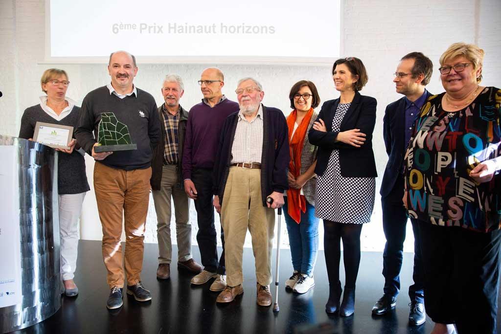Coprosain, Lauréat du prix Hainaut Horizons