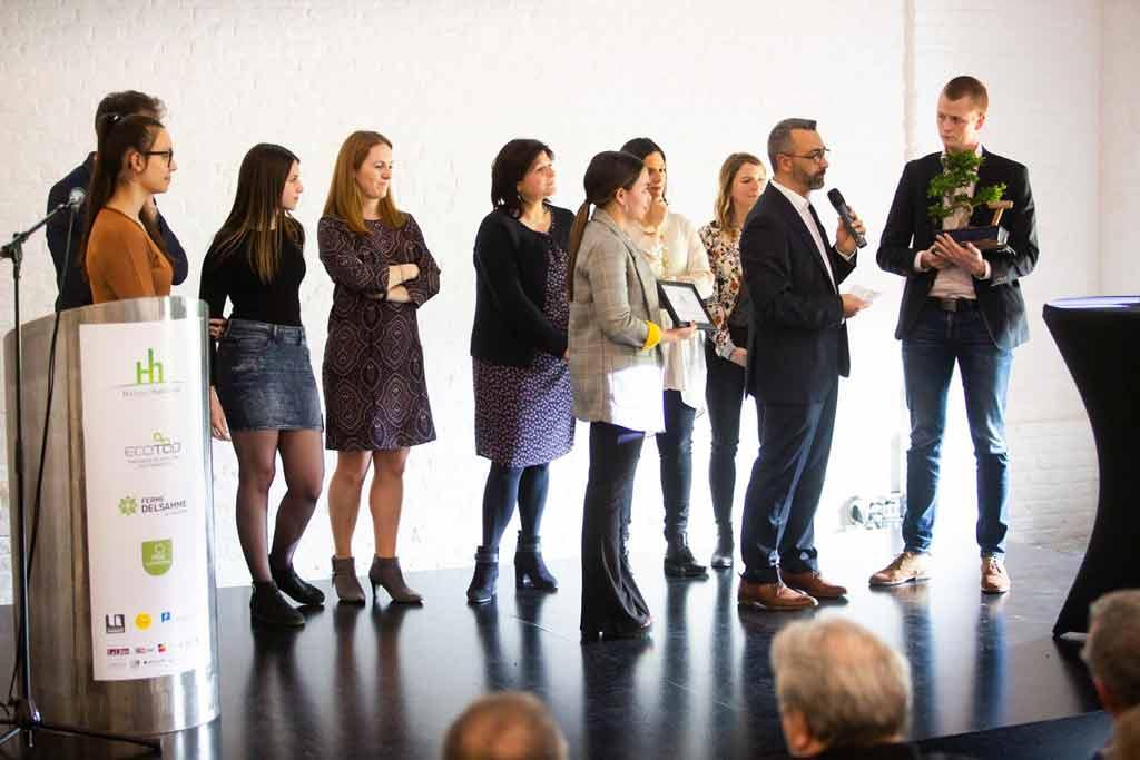 Ecotop, Lauréat du prix des étudiants