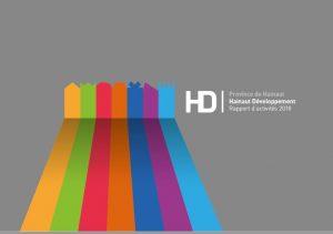 Raport activité 2018 Hainaut Développement