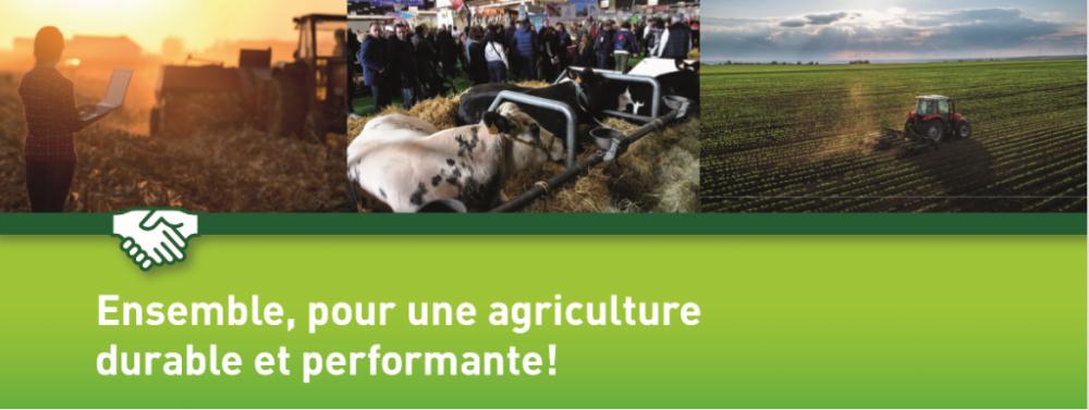 Ensemble pour une agriculture durable et performante!