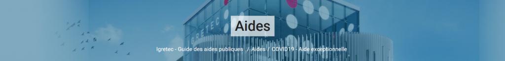 Guide des aides publiques
