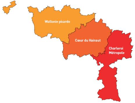 Bassin de vie Hainaut