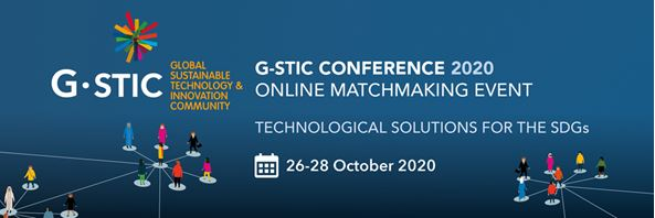 Invitation G-STIC 2020 Online matchmaking event