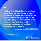 Un renforcement du cadre de sécurité sanitaire de l'Union