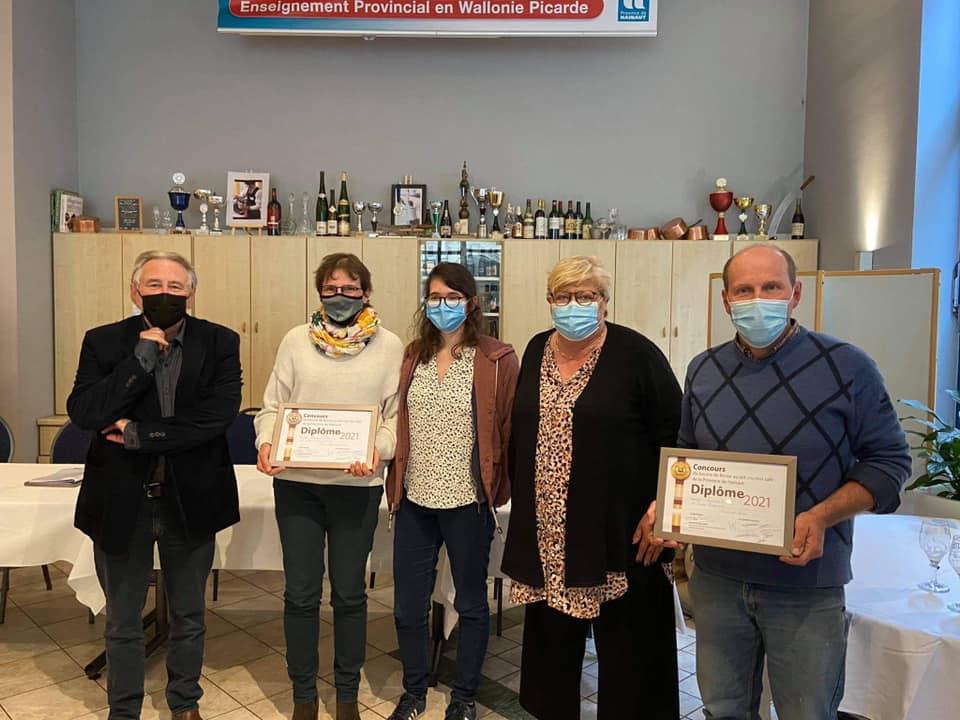 3e concours beurre fermier du Hainaut