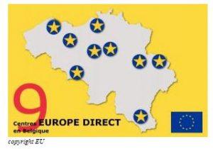 Centres EUROPE DIRECT en Belgique