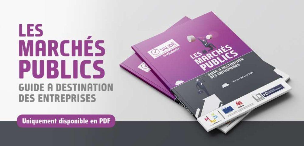 Guide Marchés Publics, validé SPW