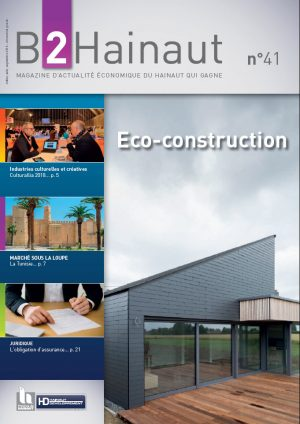 B2Hainaut 41 - Eco-construction