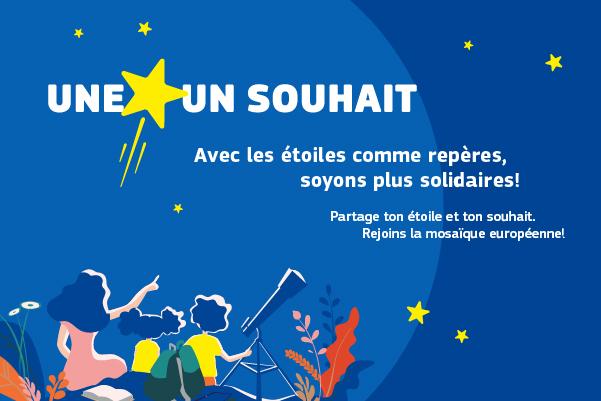 Le 9 mai – Journée de l'Europe – Tous ensemble pour la solidarité