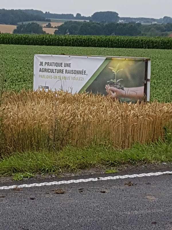 """Campagne d'affichage """" Oh, la bâche: stop à l'agribashing """""""