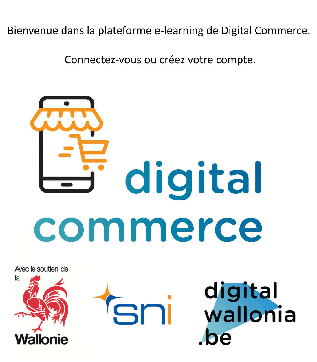 plateforme e-learning Digital Commerce
