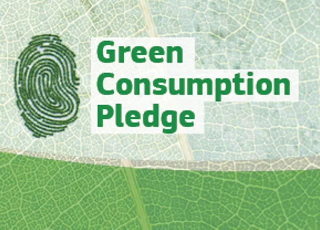 Green Consumption Pledge
